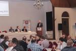 Herr Nachtwey spricht auf der Generalversammlung